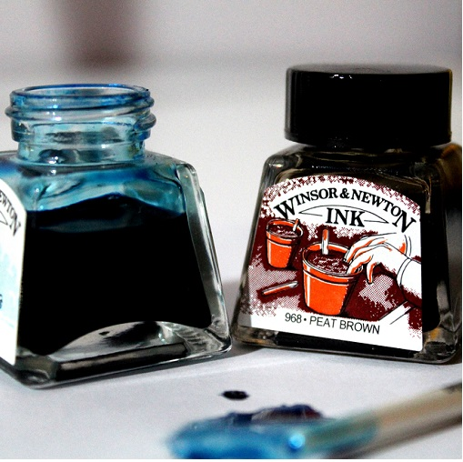 Winsor and Newton Drawing Ink 14ml Jars
