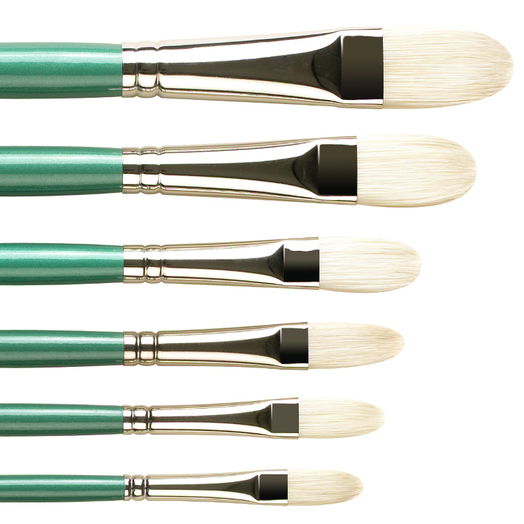 Pro Arte Series A Hog Brushes Filbert Size 6