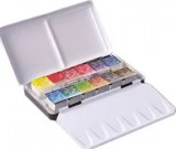 Sennelier Watercolour 12 x Half pans Set