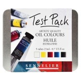 Sennelier Artist Oil Test Pack 5 x 21ml Tubes