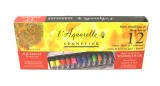 Sennelier Watercolour 12 x 10ml Tube Set