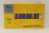 Winsor and Newton Galeria 10 x 20ml Tube Set