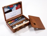 Sennelier Artist Oils Wooden Box Set
