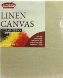 "14 x 10"" Loxley Clear Gesso Linen Canvas"