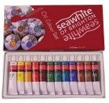Seawhite Oil Paint Set, 12 x 12ml