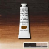 Burnt Umber Winsor and Newton Artists' Oils 37ml